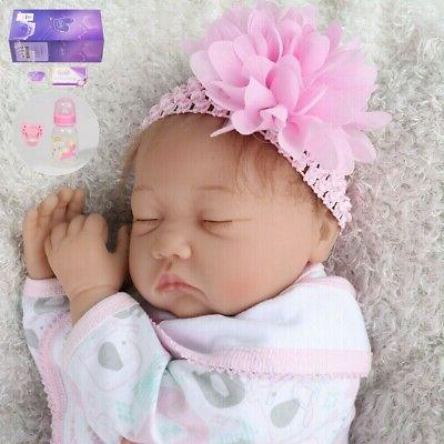 Reborn Baby Realistic Silicone Gifts Girl