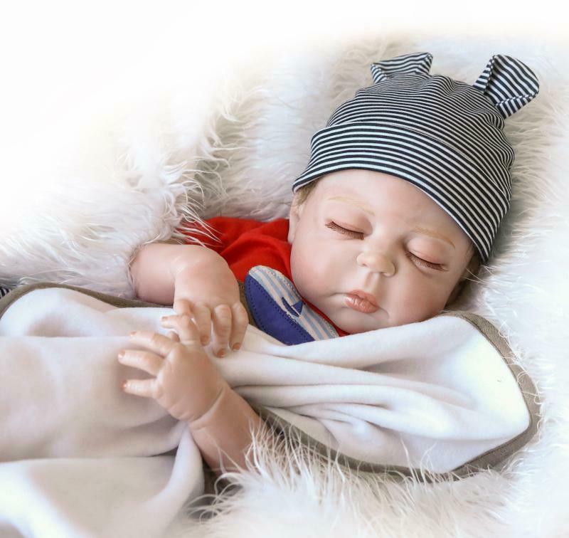"22"" Reborn Baby Full Boy Newborn"