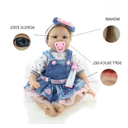 "22"" Baby Dolls Lifelike Newborn Baby Doll US"