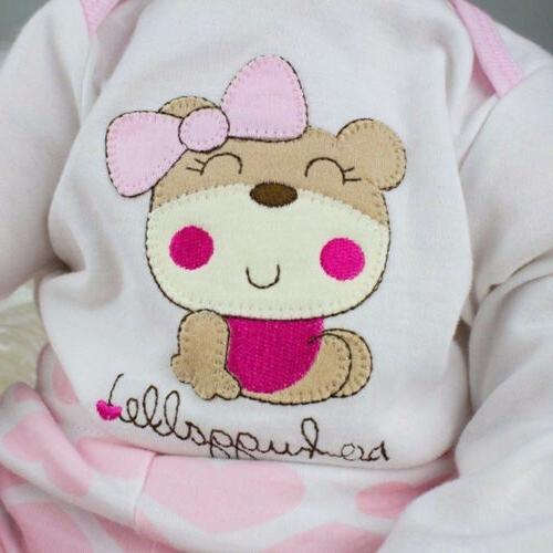 Reborn Real Baby Realistic Vinyl Handmade Gifts Girl