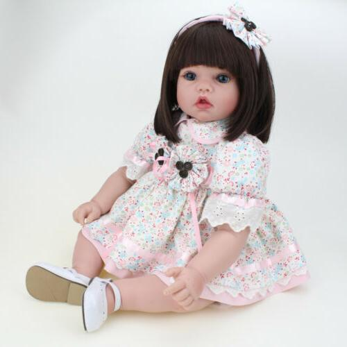 Reborn Girl Doll Xmas Gift Newborn Baby Dolls Toddler Toys V
