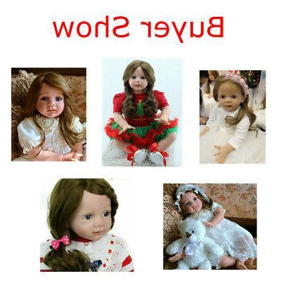 "24"" Reborn Princess Toddler Girl Handmade US"