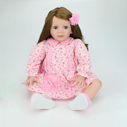 24 Baby Dolls Handmade Vinyl Silicone Newborn Doll Gift
