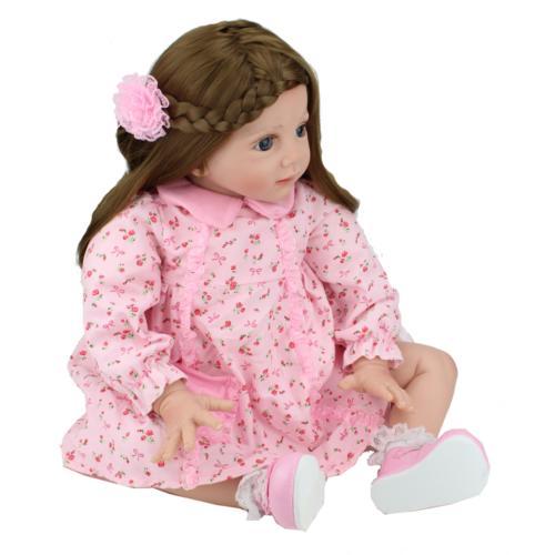 "24"" Reborn Baby Dolls Handmade Toy"