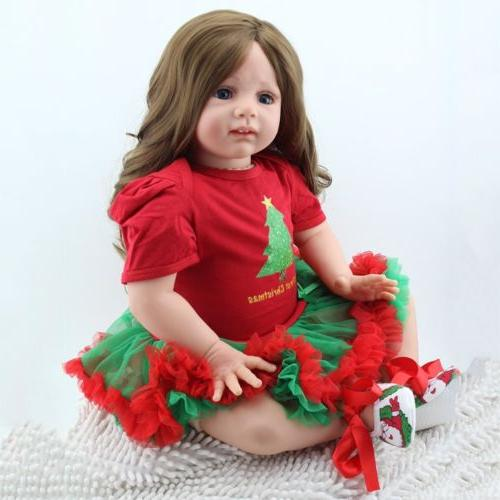 "24"" Toddler Dolls Newborn Doll Xmas Gift"