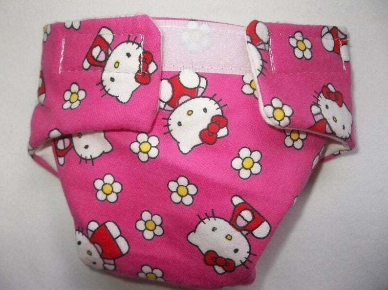 5 DOLL DIAPERS CAT BABY CABBAGE PATCH OTHER