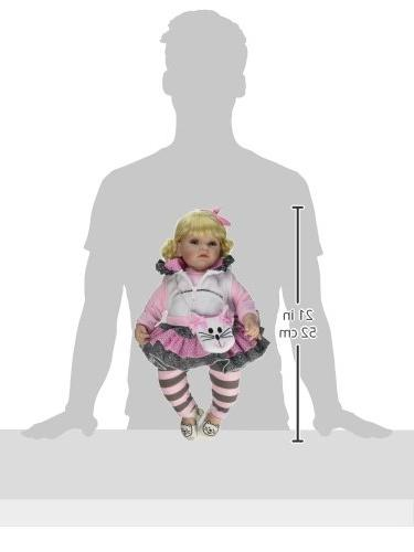 "Adora The Meow 20"" Girl Doll Gift Set Children Vinyl Cuddly Snuggle Body Toy"