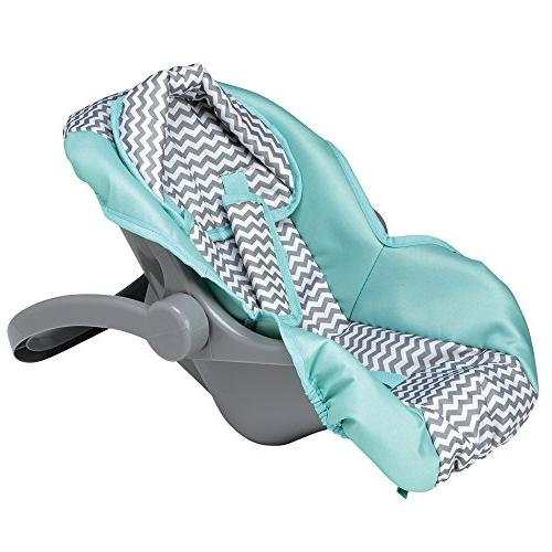 Adora Zag Car Seat for Dolls and Perfect Kids
