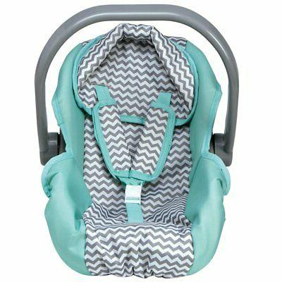 Adora Zig Zag Car Seat Carrier Accessory for Dolls and Stuff
