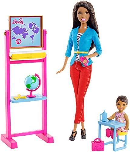 Barbie Careers Teacher Nikki Doll and Playset