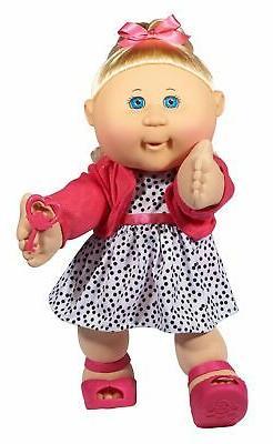 "Cabbage Patch Kids 14"" Kids - Blonde Hair/Blue Eye Girl Doll"