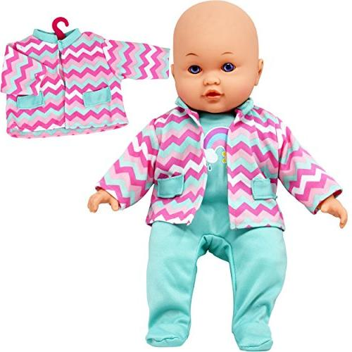 Doll Clothes Set, Baby Doll Complete Outfits Blocks,