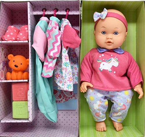 Doll Baby Doll with Complete Blocks,