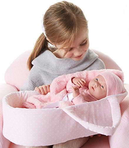 JC Deluxe Baby Basket
