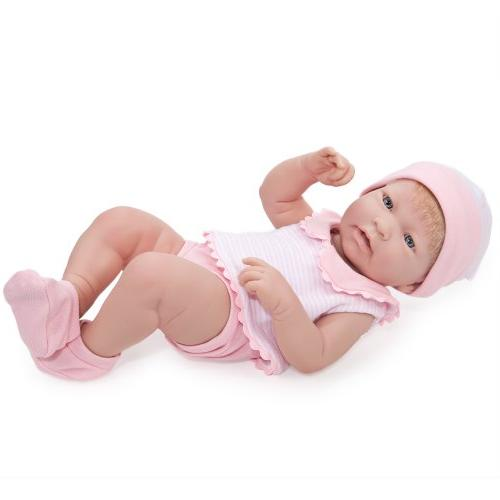 "JC Toys La Newborn Girl, 17"" Baby Doll"