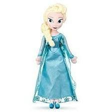 """Large 20"""" Princess Elsa Plush Doll From The Frozen Movie by"""
