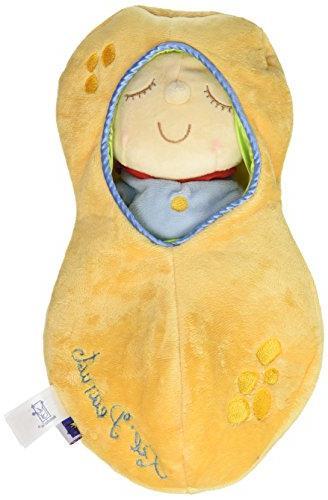 Manhattan Toy Snuggle Pod Lil' Peanut First Baby Doll with C