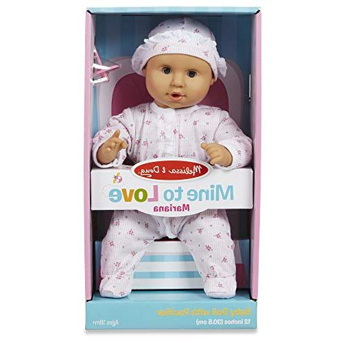 Melissa to Love Baby Doll, Romper and Hat Arms & Legs, x W x 4.7""