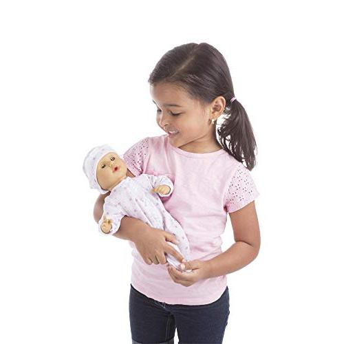 "to 12-Inch Baby Doll, Romper and Hat Included, & x 4.7"" L"