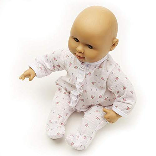 "to Mariana Baby Doll, Romper Hat Wipe-Clean & 12.4"" H x 7.2"" 4.7"" L"