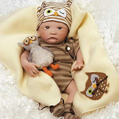 Paradise Hoot! Baby Like Real 16 inch Reborn for Age Kids 6-Piece