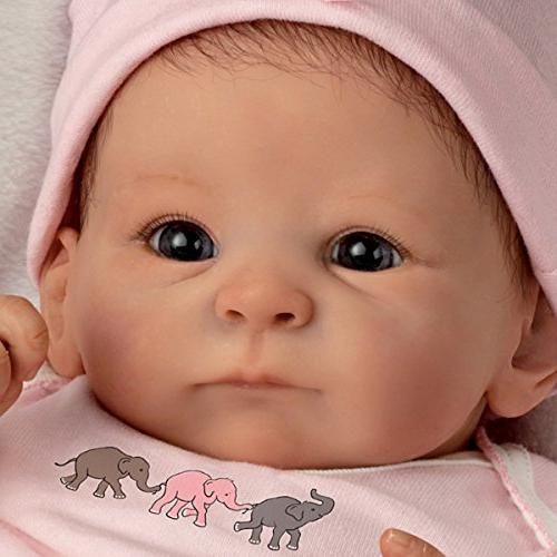 The - Galleries Truly Real Lifelike Baby Doll: Little Peanut