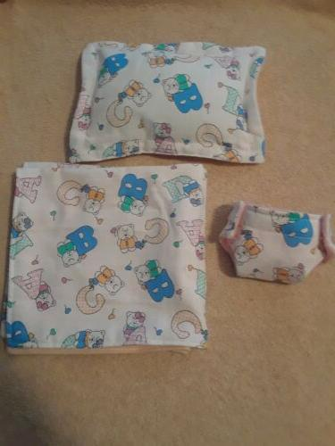 ABC and diaper cloth baby dolls