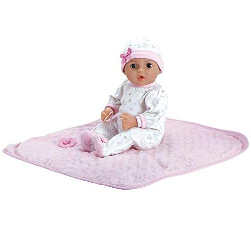 16 Newborn Soft Body Doll Gift Set Close 3 Year old kids and