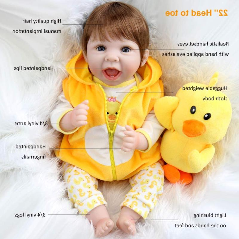 Aori Lifelike Realistic Baby Dolls with