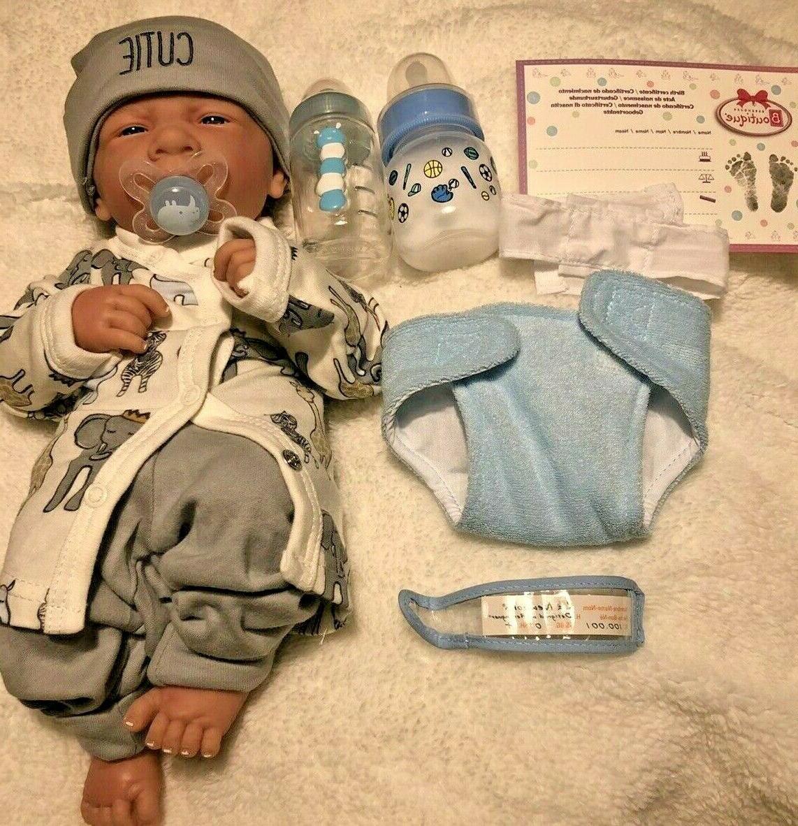 AWW! BOY Preemie Life Like Pacifier Extras