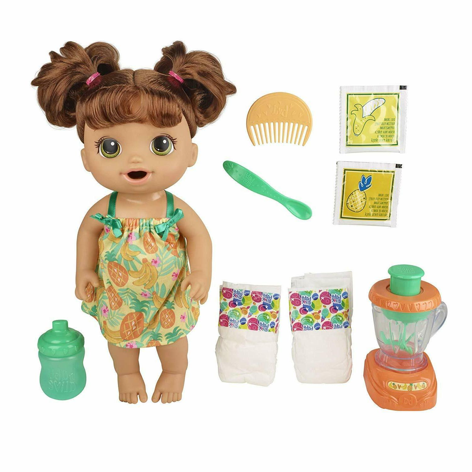 Baby Alive Baby Doll with Accessories