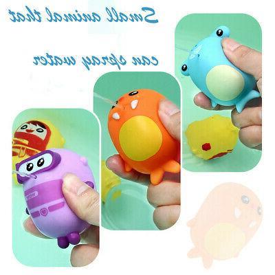 Baby Bath Bathtub Squeeze Toys Rubber Kids USA