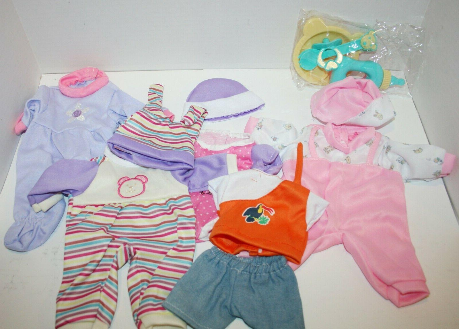 baby doll clothes and accessories for 12in
