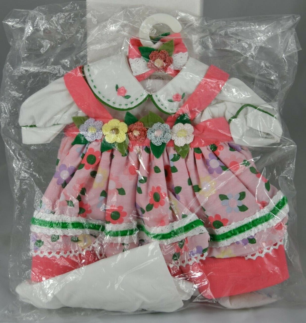 """Adora Baby Flower Power Outfit #20920832 20"""" NRFP Mint"""