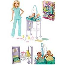 Barbie Careers - BABY DOCTOR DOLL & PLAYSET - Checkup For TW