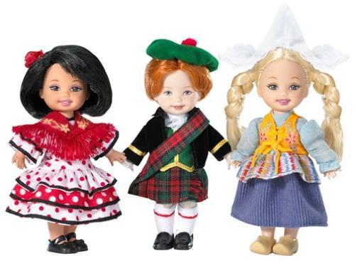 barbie collector friends world europe