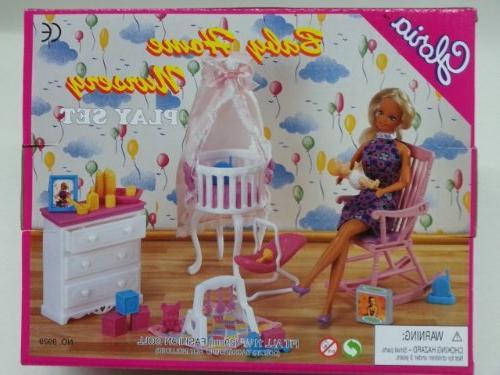 barbie dollhouse furniture gloria baby