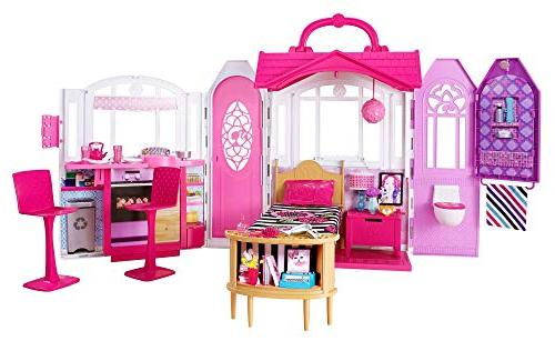 barbie glam getaway house playset