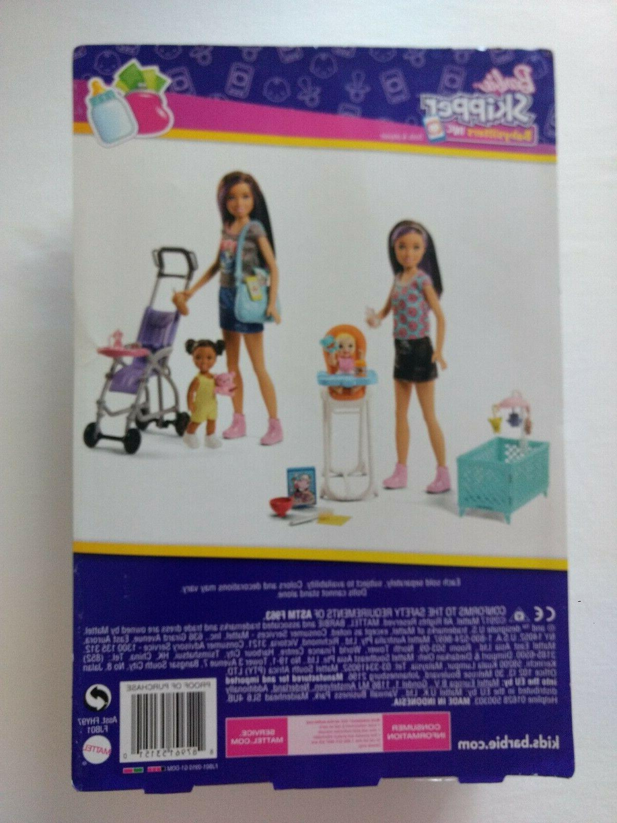 Barbie Inc Baby Playset w/ Baby *New*