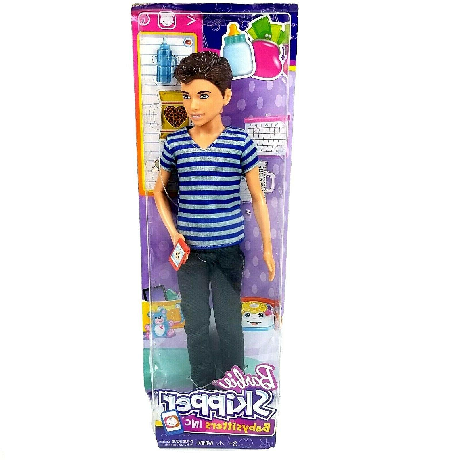 Barbie Skipper Babysitters Inc Boy Sitter Doll
