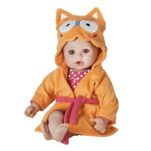 bathtime owl doll 20253003 washable