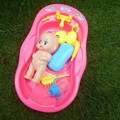 Bathtub with Bath Water Gift New