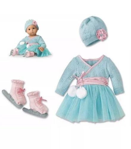 bitty bitty baby frosty ice skating outfit