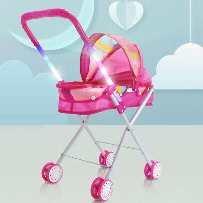 Cute Baby Doll Stroller - Gift for Pink