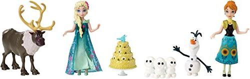disney frozen fever birthday party small doll set