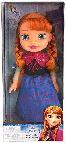 New Disney Frozen Toddler Anna Doll 14 inches