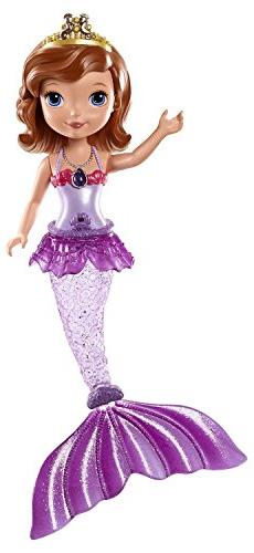 Mattel Disney Sofia the First Mermaid Sofia Bath Doll