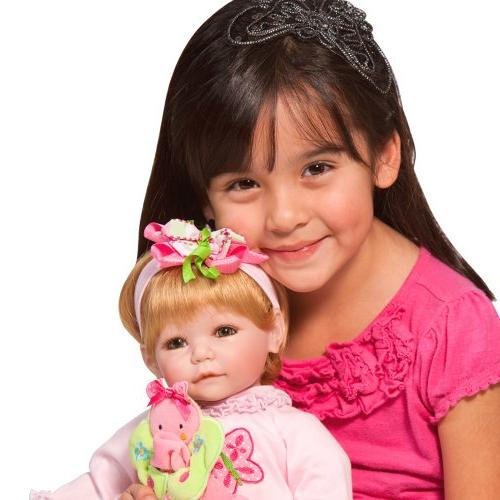 """Adora Romper 20"""" Girl Weighted Gift 6+ Huggable Cuddly Snuggle Soft Body"""