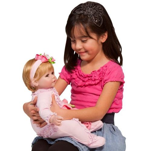 """Adora Toddler 20"""" Weighted Doll Gift 6+ Vinyl Snuggle"""
