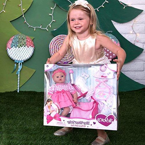 "Adora Set"" 16 Doll Soft, Holiday, Gift Child"